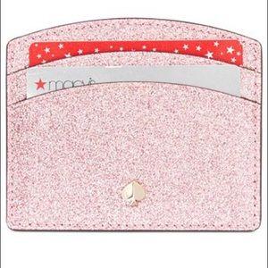 Kate Spade Burgess Court Card Holder -Rose Gold